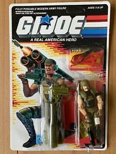 Hasbro 1988 Gi Joe Backblast Anti Aircraft Soldier MIP