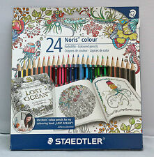 Staedtler 24 Noris Colouring Pencil Set Adult Colouring Wopex Material 185C24JB