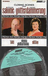 4 Spur Tonband Reel to Reel : George Solti - Salome / Götterdämmerung (Nilsson)
