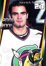 2000-01 Shawinigan Cataractes #11 Yanick Noiseux