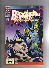 BATMAN #500 - JIM APARO ART - KELLEY JONES COVER - BANE APP. - 1993
