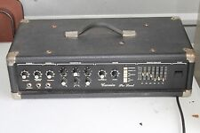 Vintage CARVIN PRO Lead PL150 Bass AMPLIFIER Stereo 4 way RARE 1982 for Guitar