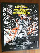 JAMES BOND 007 MOONRAKER POSTER DE MAGAZINE 40 X 54 CM