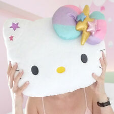 Hello Kitty SANRIO : coussin peluche XL 40cm, RARE! Produit OFFICIEL.
