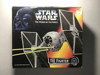 "Star Wars ""The Power of the Force"" Tie Fighter & POTF Stormtrooper Action Figure"