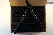 34 Plastic Binding Combs Black Set Of 100
