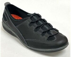 Spring Step Recharge Sporty Slip On Leather and Lycra Shoes