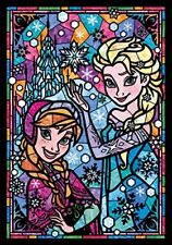 New Disney Frozen 266 Piece Jigsaw Puzzle Stained Glass Style