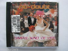 NO DOUBT: SIMPLE KIND OF LIFE (3-track CD Single, 2000, Interscope) NEW & SEALED