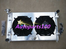 For HOLDEN COMMODORE RADIATOR&Shroud&Fans VY 6CYL V6 2003 2002 2004 ALUMINUM MT