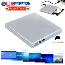 USB To SATA Laptop DVD CD Combo RW Rom Drive External Case Cover Caddy Enclosure