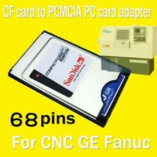 SANDISK Compact Flash CF Card TO PCMCIA  ATA PC Card Adapter For CNC GE Fanuc