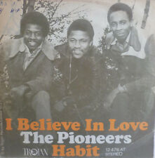 "7"" 1972 REGGAE RARE ! PIONEERS : I Believe In Love VG+?"