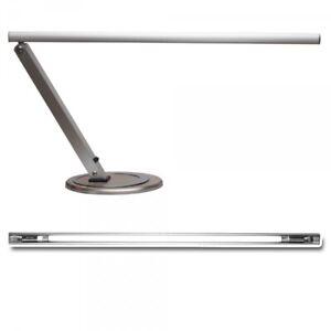 Arbeitslampe im edlen Design inkl. Leuchtmittel (silber)