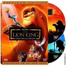 The Lion King (DVD, 2003, 2-Disc Set, Platinum Edition)Disney Animation