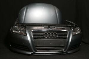 Audi A3 8P 1,9 Facelift Sportback FRONT PAKET Motorhaube Scheinwerfer Stoßstange