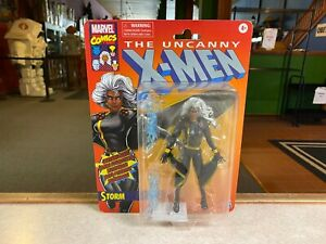 """Marvel Legends 6"""" The Uncanny X-Men BLACK SUIT STORM Retro Style Packaging NIP"""