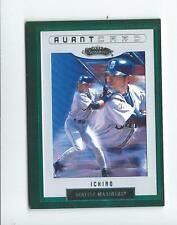 2002 Fleer Showcase #127 Ichiro Suzuki Avant Card Mariners