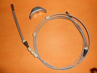 VAUXHALL CHEVETTE (1975-84) NEW COMPLETE HAND BRAKE CABLE - BC824