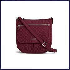 NWT Vera Bradley Iconic Mailbag Crossbody in Hawthorn Rose Microfiber MSRP $108