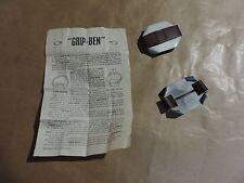 Ancienne Griffe Chaussure Grip Ben Randon Alpinisme pic antidérapant métier