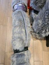 Karina Bailey Sparkle Faux Sheepskin Supersoft Rug 100x150cm Silver New
