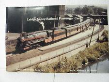 Lehigh Valley Railroad Passenger Cars Photo  Diagram Book #1 M Mickey & D Warfel