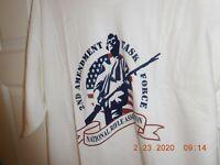 ~Gildan 2ND AMENDMENT Men's XL T-Shirt Pro Guns Firearms🔥 NRA Tactical Gear~