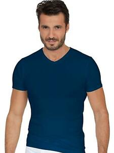 EGI Luxury Modal Men's V-Neck T-Shirt. Proudly Made in Italy.