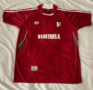 Venezuela Soccer Jersey Olympics fútbol Copa America MundialCaracas 1A