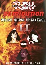 ROH Wrestling: Retribution DVD, Paul London WWE TNA CZW