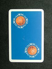 1 x Joker playing card single swap Football 12 x WH ZJ1599