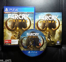 Far Cry Primal Special Edition Farcry (Sony PlayStation 4, 2016) PS4 Game - VGC