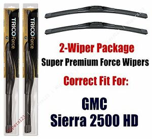 Wipers 2-Pack Hi-Performance fits 2001+ GMC Sierra 2500 HD - 25220x2