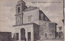 # CASTEL S. PIETRO ROMANO: CHIESA DI S. PIETRO - 1920