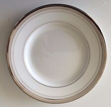 NEW MONIQUE LHULLIER for ROYAL DOULTON PLATINE BREAD & BUTTER PLATE