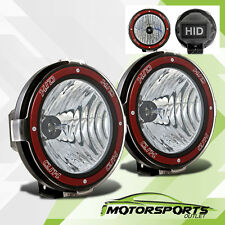 Pair Universal 7 inches Built-in 6000K HID 4x4 OffRoad Fog Lights for SUV/Truck