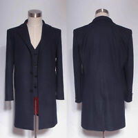 Dr Doctor Who is 11th Doctor Purple Coat Jacket cosplay costume Custom Made HH