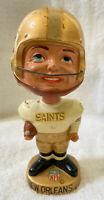 VINTAGE 1960s AFL NFL NEW ORLEANS SAINTS BOBBLEHEAD NODDER BOBBLE HEAD