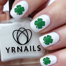 Four leaf Clover - Nail Decals by YRNails - WS024