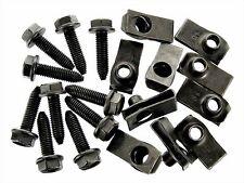 Jeep Body Bolts & U-nut Clips- M8-1.25mm x 30mm Long- 13mm Hex- Qty.10 ea.- #132