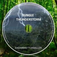 Jungle Thunderstorm CD - Natural Sounds Forest Sleep Aid Relaxation Calming