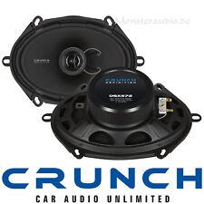 "Crunch DSX-572 5x7"" 13x18cm Auto Lautsprecher für FORD Ka Mondeo Fusion Transit"