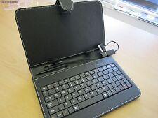 """Black 7"""" Keyboard Carry Case Stand for Samsung Galaxy Tab2 GT-P3110TSABTU"""