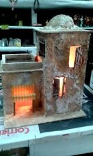 Casa araba con luce miniatura presepe artigianato Napoli San Gregorio Presepe