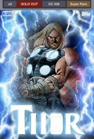 Topps Marvel Collect Digital Ultimate Thorsday - Wave 1 - Week 1 /536