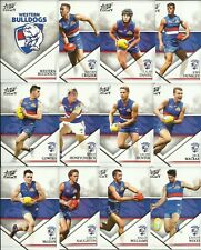 2018 select LEGACY WESTERN BULLDOGS SERIES 2 COMMON TEAM SET 12 cards AFL