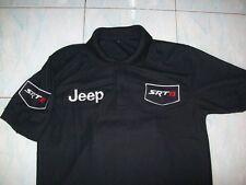 NEU JEEP GRAND CHEROKEE SRT8 Poloshirt schwarz polo shirt blouse camisa chemise