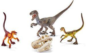 *NEW* SCHLEICH 42259 Velociraptor on the Hunt Set