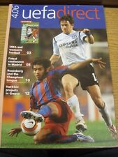 Apr-2006 UEFA Direct: Monthly Magazine - No.48. We try and inspect all our items